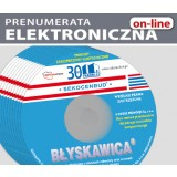ZESTAW miesięczników BŁYSKAWICA on-line  (prenumerata elektroniczna)