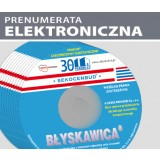 ZESTAW miesięczników BŁYSKAWICA na CD (prenumerata elektroniczna)