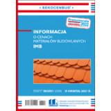 Informacja o cenach materiałów budowlanych IMB 3 kw. 2021