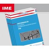 Informacja o cenach materiałów elektrycznych IME (kwartalnik)