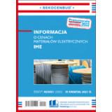 Informacja o cenach materiałów elektrycznych IME 3 kw. 2021