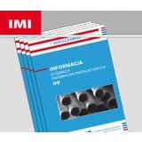 Informacja o cenach materiałów instalacyjnych IMI (kwartalnik)