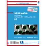 Informacja o cenach materiałów instalacyjnych IMI 3 kw. 2021