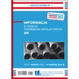 Informacja o cenach materiałów instalacyjnych IMI 4 kw. 2018