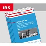 Informacja o stawkach robocizny kosztorysowej oraz cenach pracy sprzętu budowlanego IRS (kwartalnik)