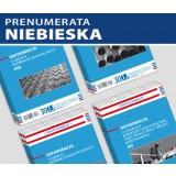 ZESTAW Informacji o cenach czynników produkcji budowlanej (prenumerata niebieska)