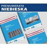 ZESTAW Biuletynów cen scalonych (prenumerata niebieska)