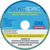 SEKO-SPEC Specyfikacje Techniczne Ogólnobudowlane - Zest. 1-33 / CD