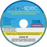 SEKO-SPEC Specyfikacje Techniczne - Zest. 1-50 / CD