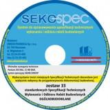 SeKo SPEC Specyfikacje Techniczne Ogólnobudowlane - Zest. 1-33 / CD