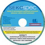 SeKo SPEC Specyfikacje Techniczne Instalacji Sanitarnych - Zest. 1 - 9 / CD