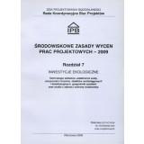 Środowiskowe zasady wyceny prac projektowych 2009 Rozdz. 7